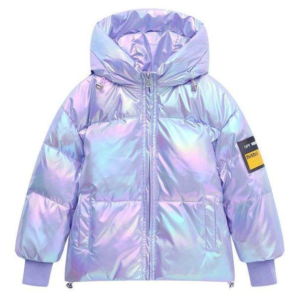 Raum Purple (Wäsche Freie Daunenjacke)