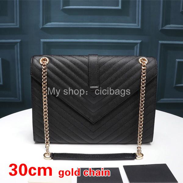 V Gold noir-30cm