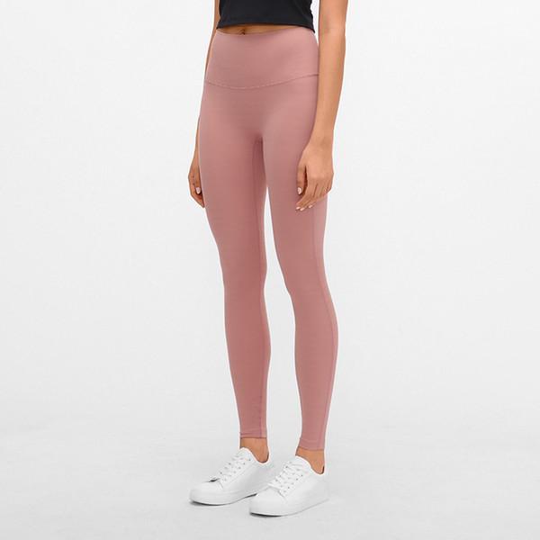 best selling New Embarrassing Line Yoga Pants Fall winter High Waist Abdomen Jacquard Seamless Tight-fitting Sports Pants Women