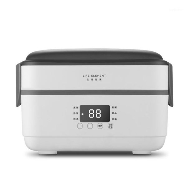 best selling Life Electric Rice Cooker 1.5L Thermal Insulation Lunch Box Portable Steam Heating Double Stainless Steel Inner Pots1