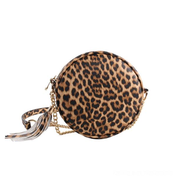 Tassel de peau de léopard brun # 78604