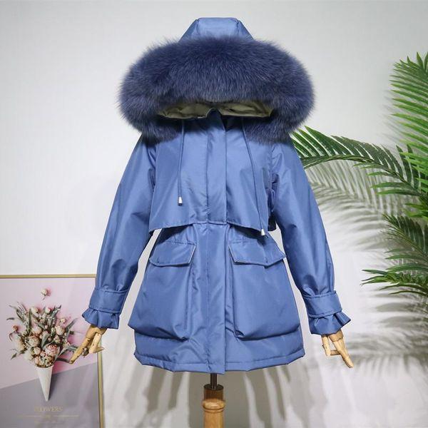 Blue Real Fur