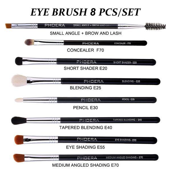 8pcs eye brushes Set