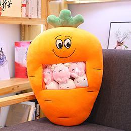 Lächeln von Karotten