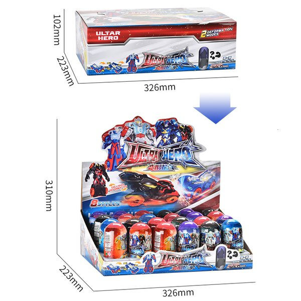top popular Collision deformation car Children's animation toy Character cars switch freely high quality toys both boy and girl 2020