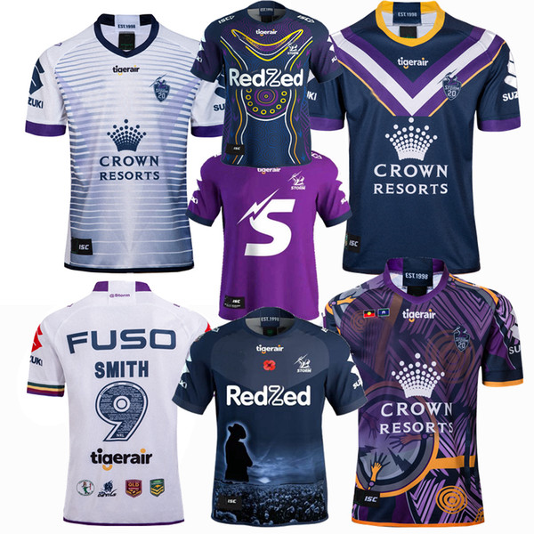 top popular Top New 1998 2018 2019 2020 2021 Melbourne STORM souvenir edition rugby Jerseys Rugby League jersey 19 20 21 shirts 2020