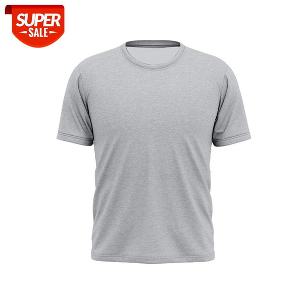 top popular Men's cotton T-shirt men's and women's cotton T-shirt without pattern, various colors and patterns can be customized #TJ01 2021