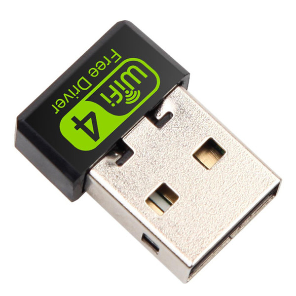 top popular 150Mbps Mini WiFi Adapter USB Adapter Free Driver Wi Fi Dongle Network Card Ethernet Wireless Wi-Fi Receiver for PC Laptop 2021
