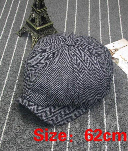 siyah, gri 62cm