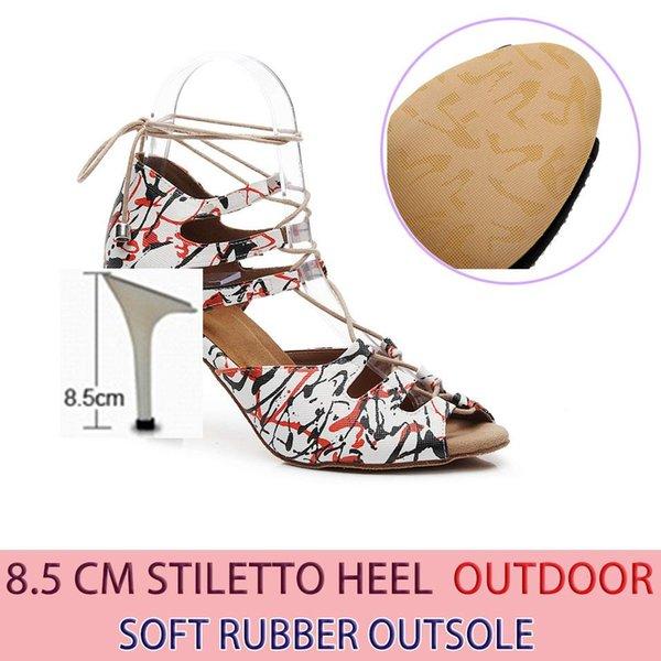 Gummi 8.5cm Heel