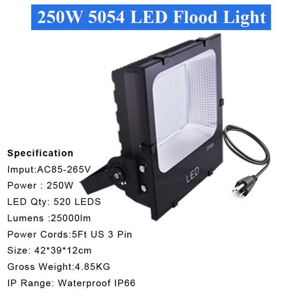 4 ADET 250W 5054 projektör