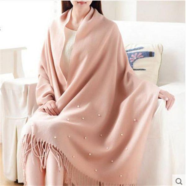 scarf women pink