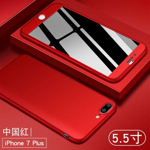 Apple 7/8 Plus China Red Enviar filme temperado