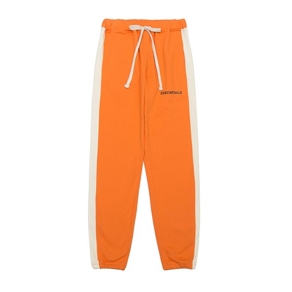 best selling FOG FEAR OF GOD ESSENTIALS Designer Pants Mens Fashion Drawstring Relaxed Homme man FG Luxury clothes letters 19SS Hip Hop Sweatpants S-XL