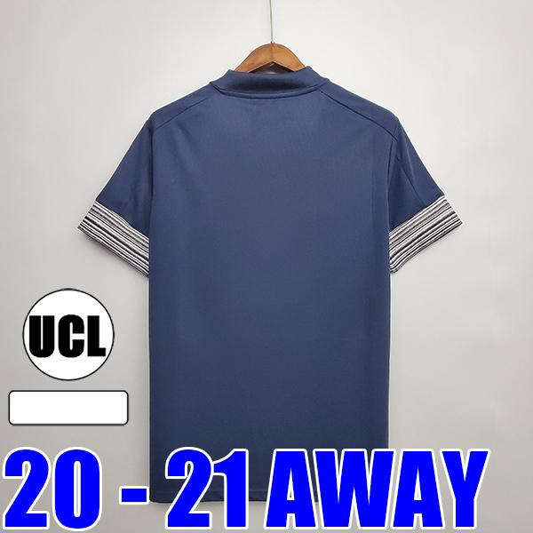 Hombres Away + UCL