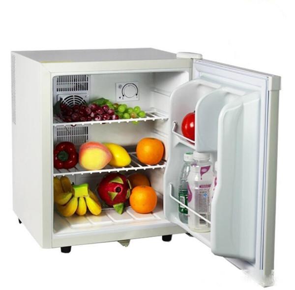top popular Hotel room special small refrigerator home mini small freezer transparent glass door freezer tea fresh cabinet 2020