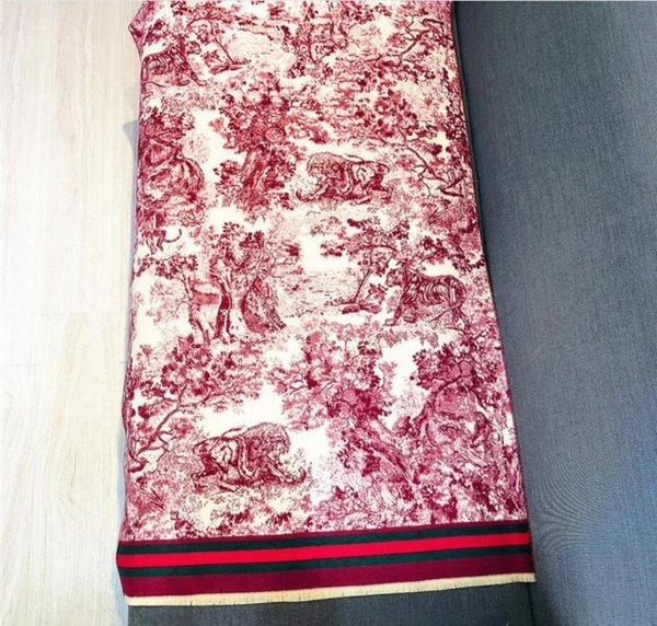 Red China 180x65cm