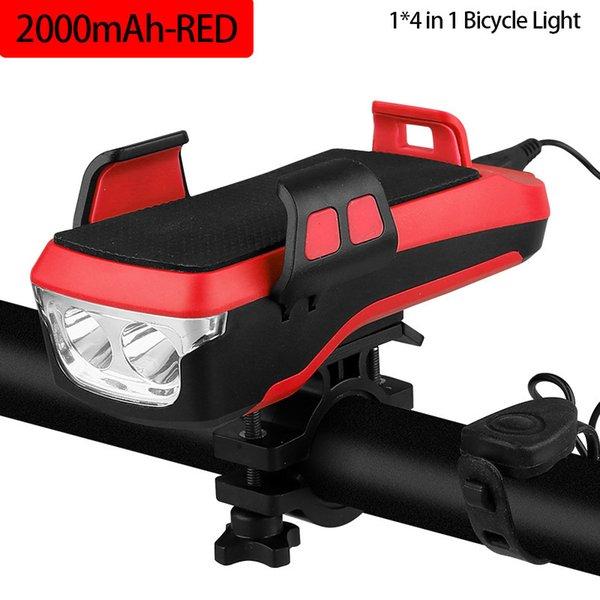 2000mah Red