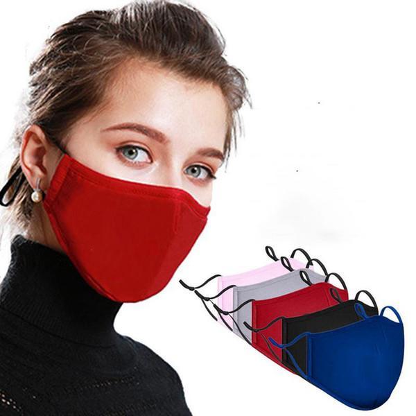 # 5 Maschera per adulti Mix Colors con 2 filtri