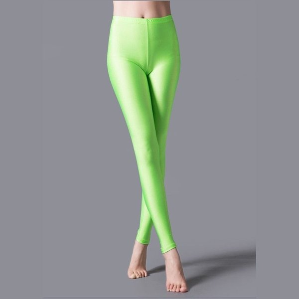 La fluorescencia verde