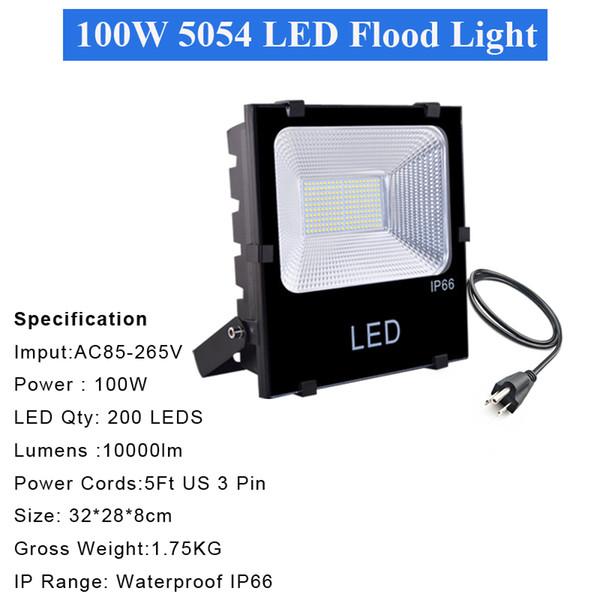 2 ADET 100W 5054 projektör