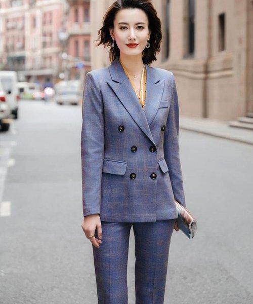 Blue coat and pants