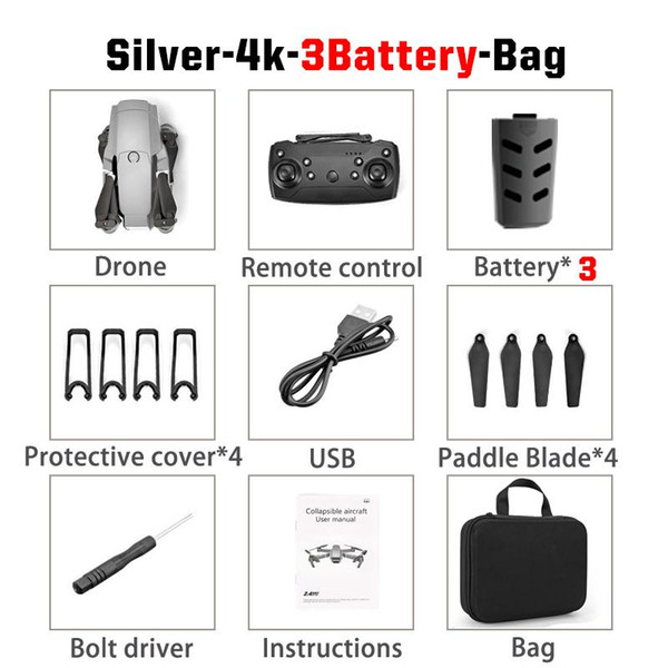 Sliver 4K 3B Bag