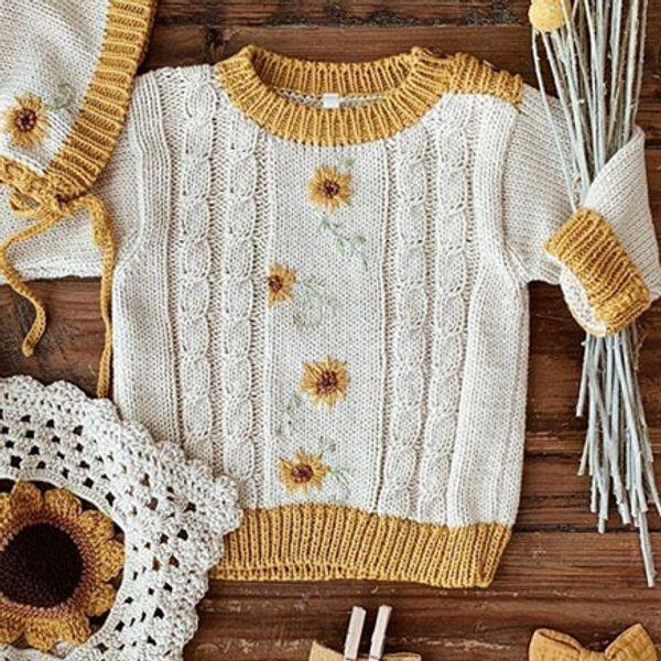 Flower Sweaters