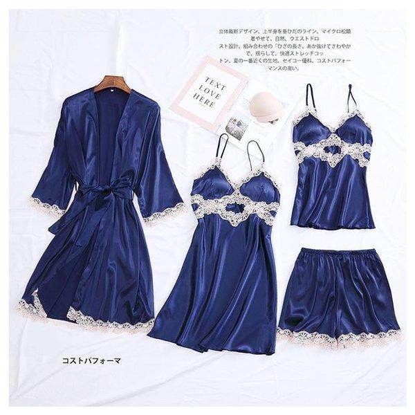 4PCS Azul Navy