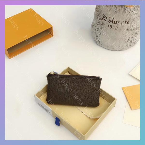 Mens Luxurys Designers Wallet Men Coin Purse Fashion Credit Card Holder Womens Handbags Wallets Key Pouch Cardholder Bags pochette 2020