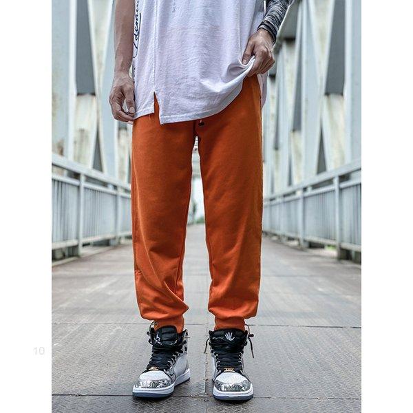 top popular Sweatpants Mens Joggers pants casual trousers Hip-hop UNISEX pants Fashion Sweatpants Stripes Panalled Pencil Jogger Pants Asian size 2020