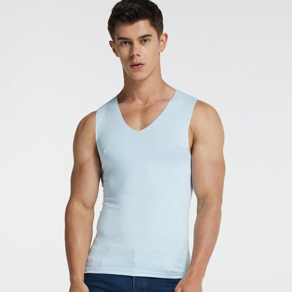 Geniş omuz açık mavi