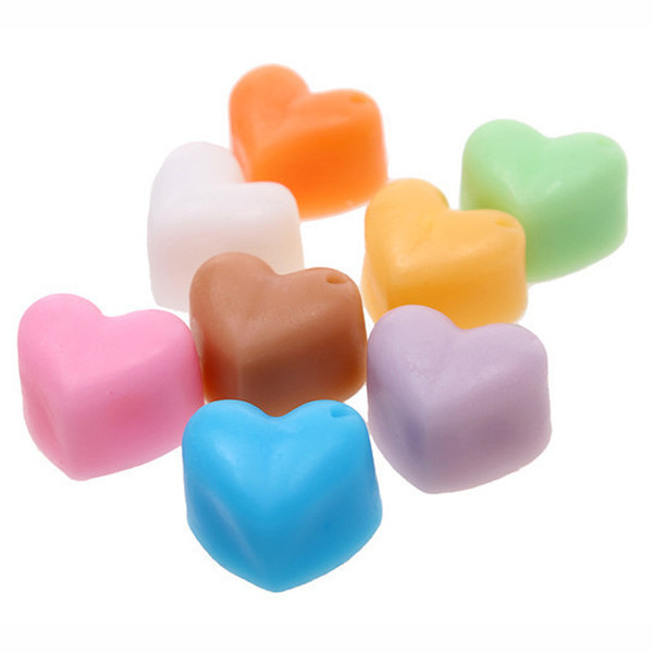 top popular 2021 Valentine's Day 15 Hole Heart Shaped Cake Chocolate Silicone Mold Mini DIY Kitchen Decorates Tools Weddings Handmade Candy Molds G11303 2021