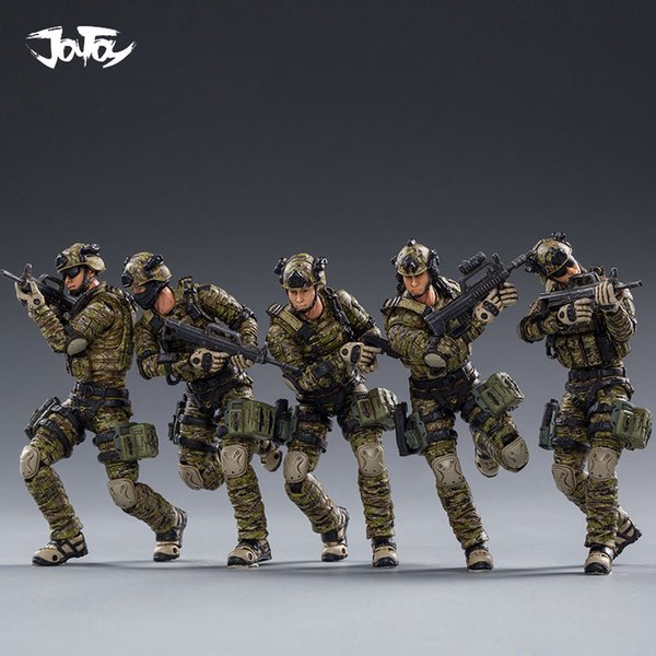 best selling 2020 NEW JOYTOY 1 18 Action Figures PLA Army Ground Forced Model Doll Birthday Holiday Gift Free Shipping 1008