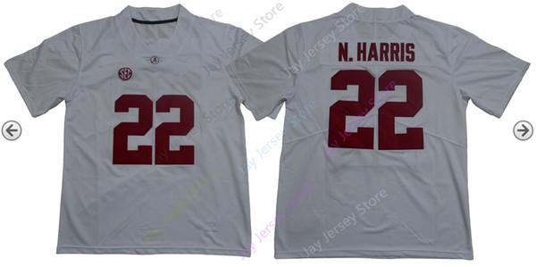22 Najee Harris белый