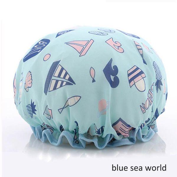 mondo del mare blu