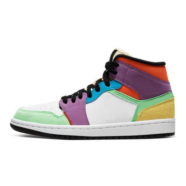 1s 36-45 multicolore