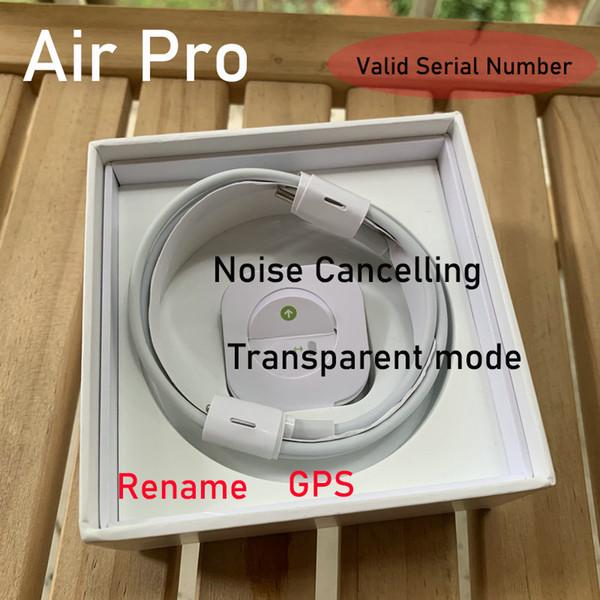 top popular Noise Cancelling Air Gen 3 AP3 H1 Chip Transparency Metal Hinge Wireless Charging Bluetooth Headphones pk Pods 2 AP Pro 2020