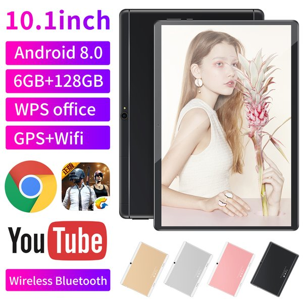 """best selling 10 inch MTK6580 2.5D glasss IPS capacitive touch screen dual sim 3G GPS tablet pc 10"""" android 8.0 Octa Core 6GB 128GB G-10PB"""