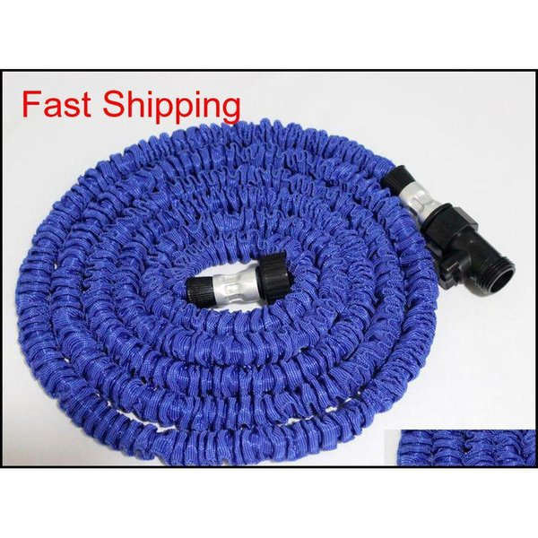 best selling 25ft Hose Expandable & Flexible Water Garden Hose Pipe Flexible Water Blue And Green jlloRw insyard