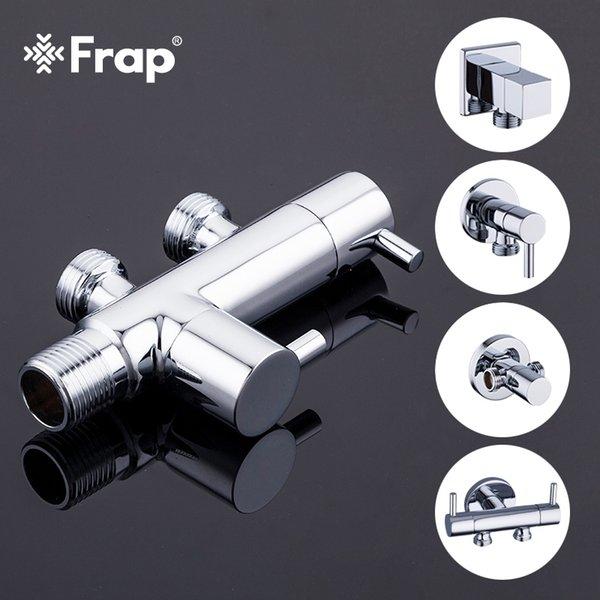 top popular FRAP Bidets toilet shower bidet brass muslim shower toilet bidet spray mixer tap faucet handheld bidet spray C0127 2021