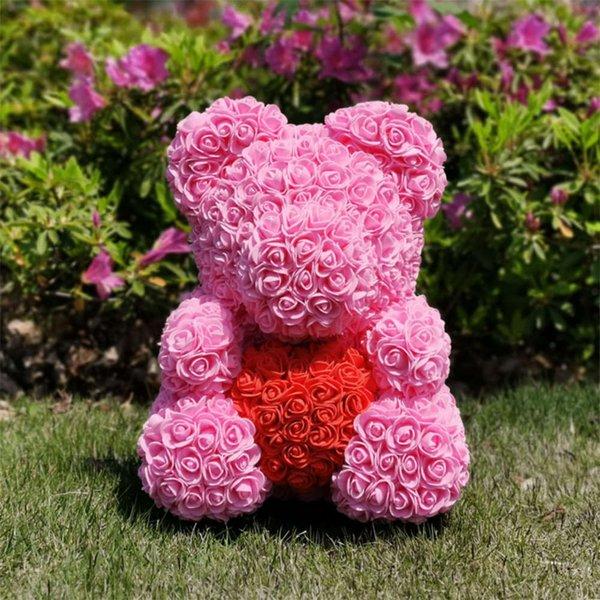 40cm Pink Heart