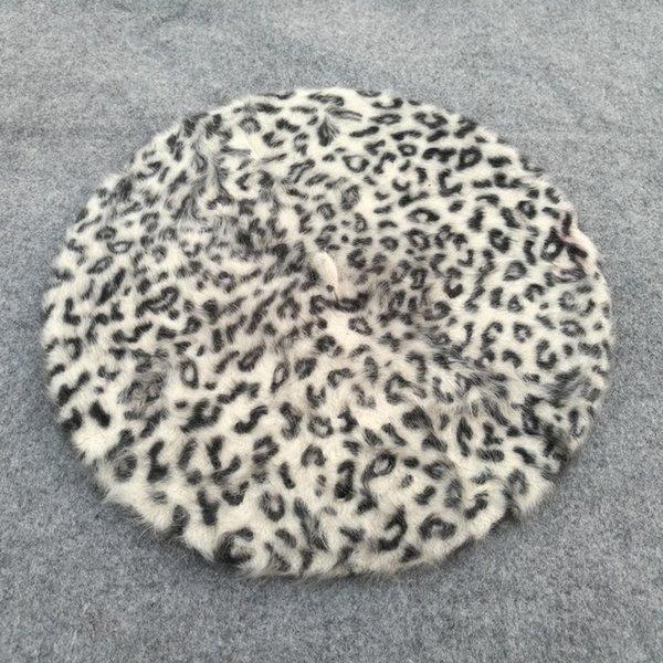Punto de leopardo blanco