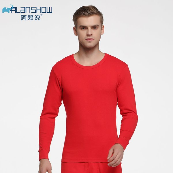 Red Long Johns-L