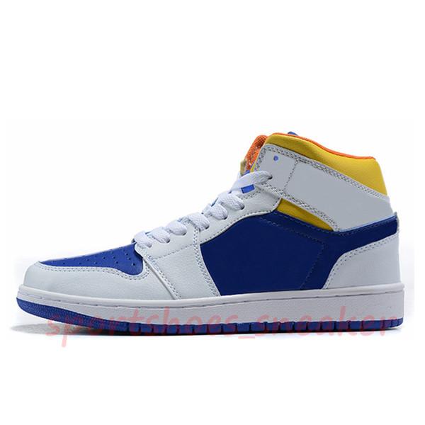 23 amarelo branco azul