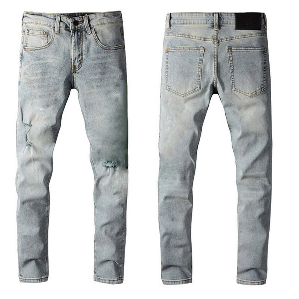 top popular Men Classic Jeans Male Slim Pants Man Biker Masculino Business Trousers Mens Fashion Casual Jeans Mature Trendy Spring Sutumn Hot New Pant 2021
