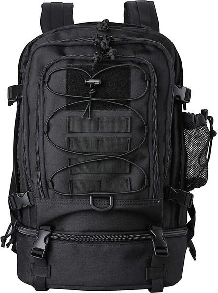 top popular Kosse Tactical Backpacks 30 Liter, Large Capacity Hiking Daypacks Molle Bag for Camping, Hunting, Trekking, Traveling 2021