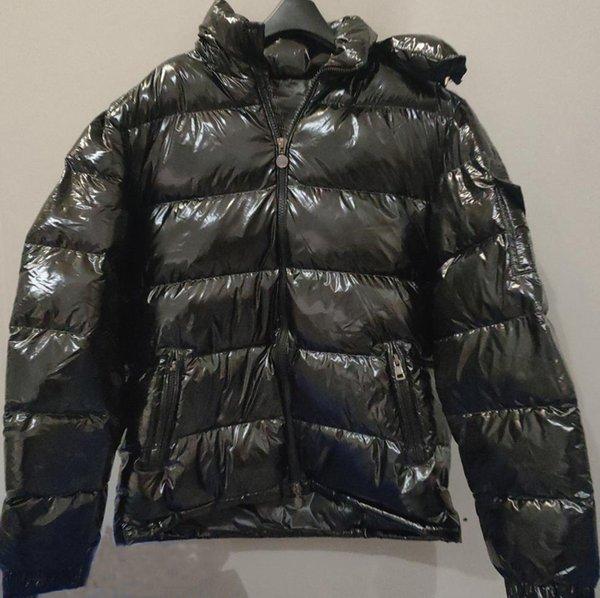 top popular Mens Coat Hooded Parka Men Jacket Winter Womens Windbreaker Parkas Down Coat Thick Jackets Mens Fashion Jackets Asian Size Men's Clothing 2021