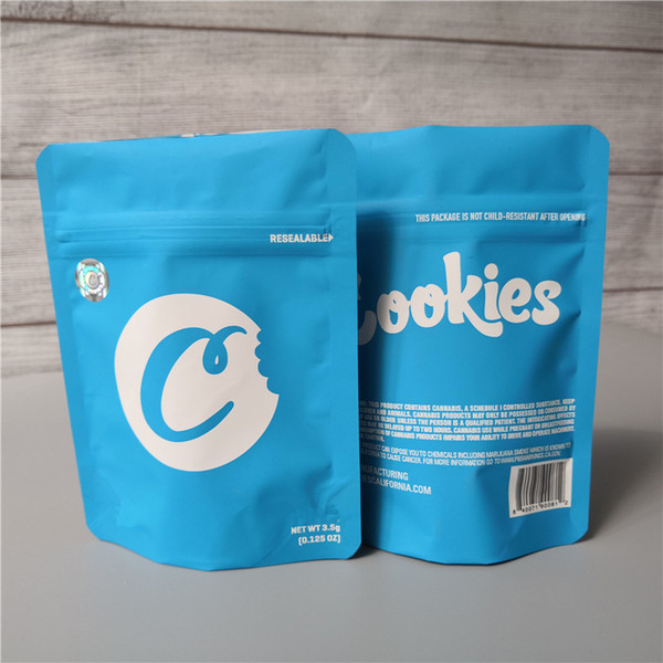 cookies bag with hologram sticker