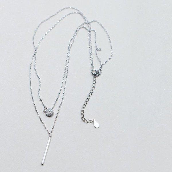 Silber 40.5cmplus5cm 925STERLINGLINGER.